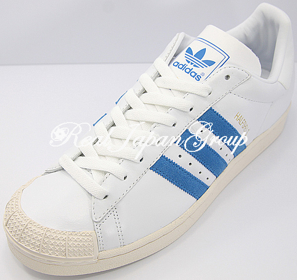Adidas Halfshells KL アディダス ハーフシェル カンガルーレザー(White/B.Bird/Chalk)