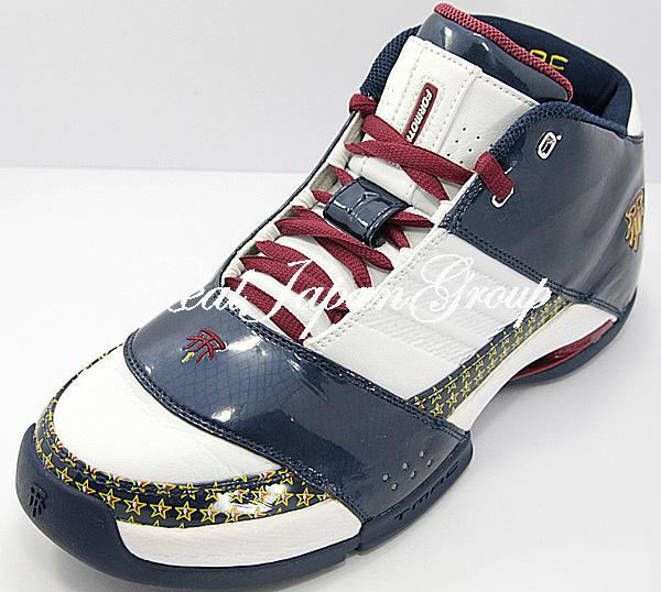 Adidas T-MAC 6 アディダス ティーマック 6(White/Dark Indigo/Cardinal)