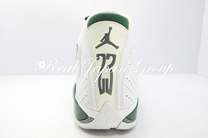Air Jordan 14 Retro エア ジョーダン 14 レトロ(White/Black Forest-LT Graphite)