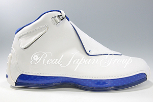 Air Jordan 18 エア ジョーダン 18(White/Metallic Silver/SP Royal)
