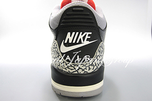 Air Jordan 3 Retro エア ジョーダン 3 レトロ(Black/Cement Grey)