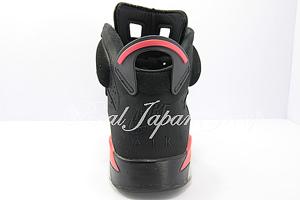 Air Jordan 6 Retro エア ジョーダン 6 レトロ(Black/Deep Infared)