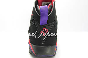 Air Jordan 7 Retro エア ジョーダン 7 レトロ(Black/Dark Charcol/True Red)