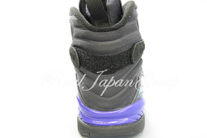 Air Jordan 8 Retro エア ジョーダン 8 レトロ(Black/Bright Concord/Aqua Tone)