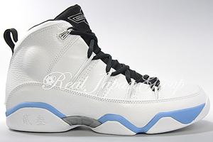 Air Jordan 9.5 Team エア ジョーダン 9.5 チーム(White/Black-University Blue)