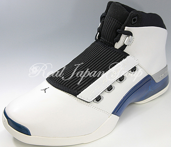 Air Jordan 17 エア ジョーダン 17(White/College Blue/Black)