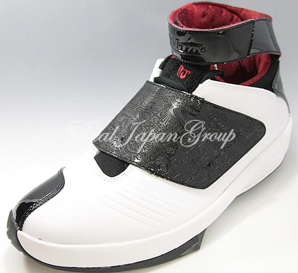 Air Jordan 20 エア ジョーダン 20(White/Black/Varsity Red)