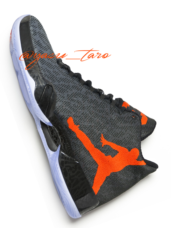 Air Jordan XX9 エア ジョーダン 29(Black/Team Orange/Dark Grey)