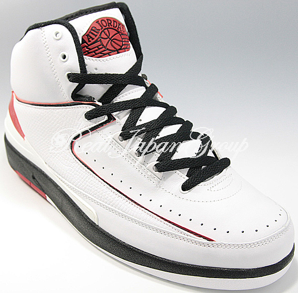 Air Jordan 2 Retro エア ジョーダン 2 レトロ(White/Varsity Red/Black)