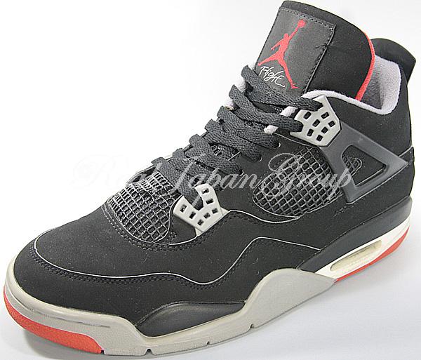 Air Jordan 4 Retro エア ジョーダン 4 レトロ(Black/Cement Grey)