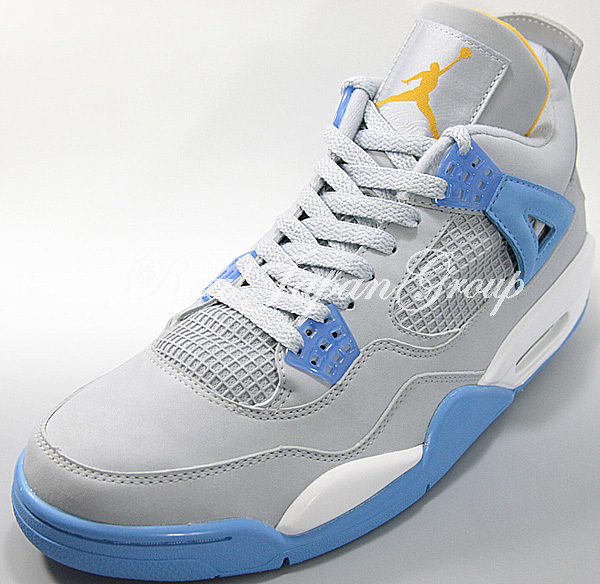 Air Jordan 4 Retro LS エア ジョーダン 4 レトロ ライフスタイル(Mist Blue/University Blue/Gold Leaf/White)