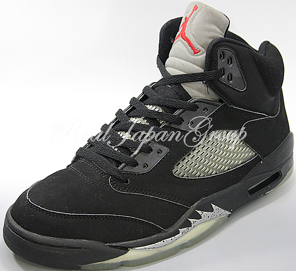 Air Jordan 5 Retro エア ジョーダン 5 レトロ(Black/Black/Metallic Silver)