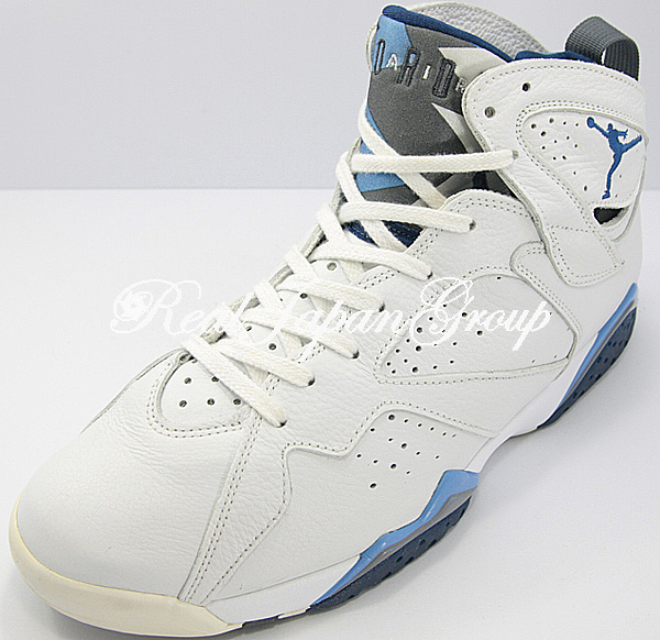 Air Jordan 7 Retro エア ジョーダン 7 レトロ(White/French Blue-Flint Grey)
