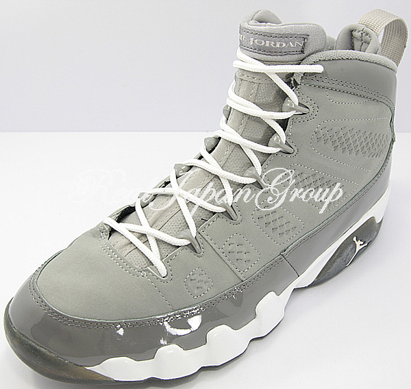 Air Jordan 9 Retro エア ジョーダン 9 レトロ(Medium Grey/White/Cool Grey)