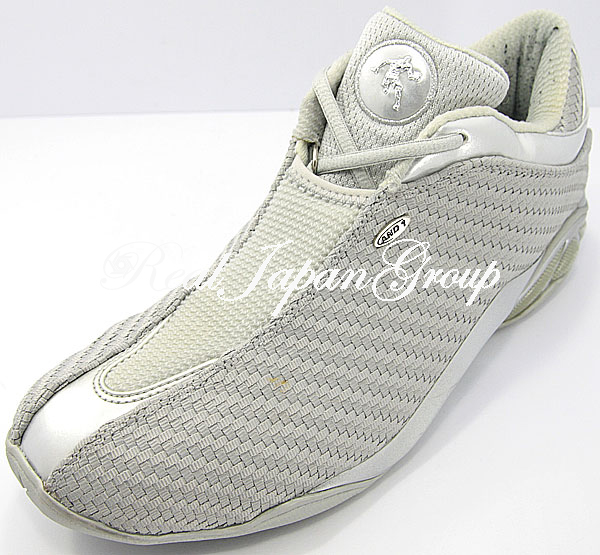 AND1 Mad Game Woven Mid アンドワン マッド ゲーム ウーブン ミッド(L.Grey/L.Grey/Silver)