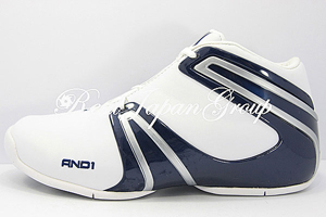 AND1 Remix Mid アンドワン リミックス ミッド(White/Navy/Silver)