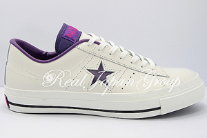 Converse One Star コンバース ワンスター(White/Purple)