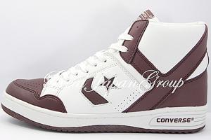 Converse Weapon Hi コンバース ウェポン ハイ(White/Maroon)