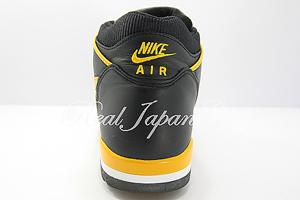 Nike Air Alpha Force 2 ナイキ エア アルファ フォース ツ- ハイ(Black/Del Sol Orange Blaze)