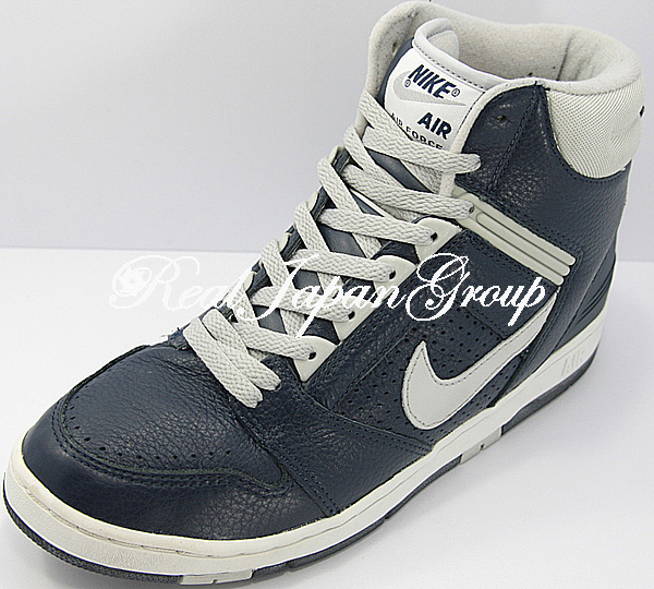 Nike Air Force 2 Hi ナイキ エア フォース ツ- ハイ(Obsidian/Neutral Grey)