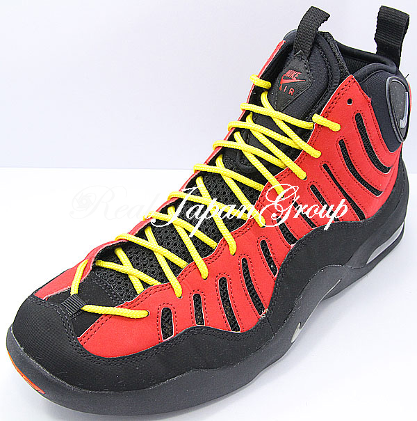 Nike Air Bakin' ナイキ エア ベーキン(Black/Metallic Silver/V.Red/Orange)