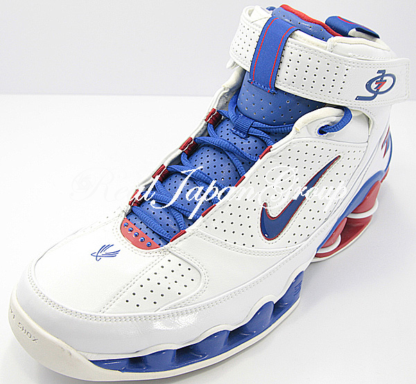 Nike Shox Ups ナイキ ショックス アップス(White/Varsity Royal/Varsity Red)