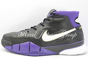 Nike Air Zoom KOBE 1 ナイキ エア ズーム コービー 1(Black/White/V.Purple/Cany Gold)