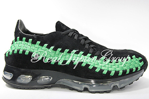 Nike Air Footscape Woven 360 ナイキ エア フットスケープ ウーブン 360(Black/Classic Green)