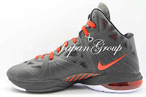 Nike LeBron 8 P.S. ナイキ レブロン 8 P.S.(Black/Sport Red-White)