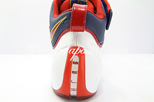 Nike Air Zoom LeBron 4 ナイキ エア ズーム レブロン フォー(White/Varsity Crimson/Midnight Navy/Metallic Gold)
