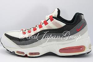 Nike Air Max 95' ナイキ エア マックス 95'(White/Comet Red/Black)