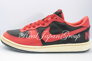 Nike Terminator Low (VNTG) ナイキ ターミネーター ロー (ヴィンテージ加工)(Black/Comet Red-Light Bone)