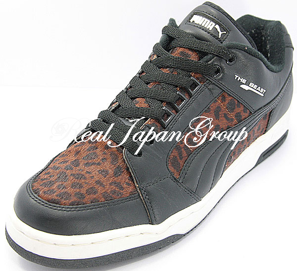Puma Beast Low プーマ ビースト ロー(Black/Brown/Black)