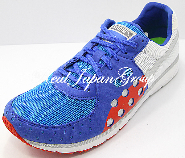Puma Faas 300 プーマ ファース 300(Dazzling Blue/White/High Risk Red)