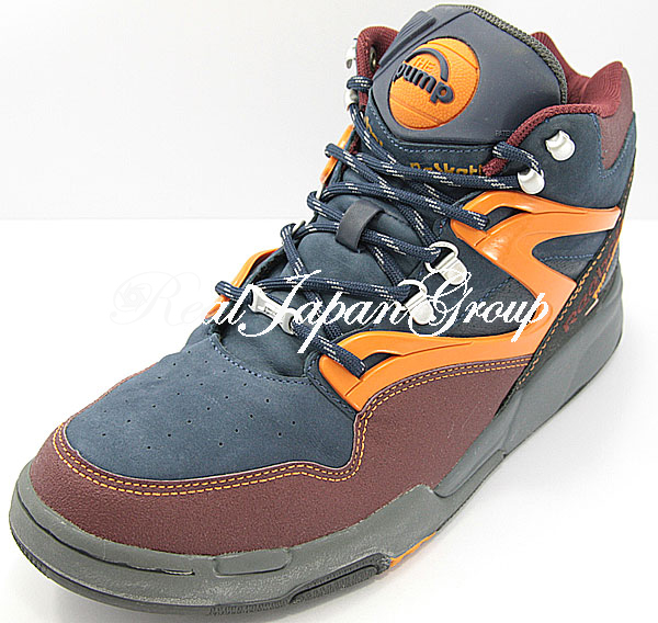 Reebok Pump Omni Light JPE リーボック ポンプ オムニ ライト JPE(Mahogany/Navy/T.Orange)
