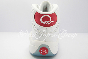 Reebok Question Mid リーボック クエスチョン ミッド(White/Perlized Red)