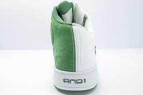 AND1 Tai Chi TGR Mid アンドワン タイチ TGR ミッド(White/Green)