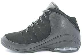 AND1 Triple A+ Mid アンドワン トリプル エープラス ミッド(Black/Silver)