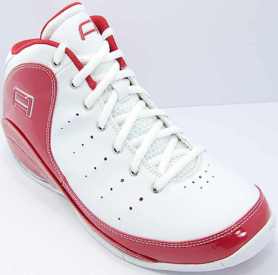 AND1 Triple A+ Mid アンドワン トリプル エープラス ミッド(White/V.Red/Silver)