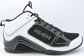AND1 Stagger Mid アンドワン スタッガー ミッド(Black/White)