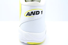 AND1 Tai Chi Mid アンドワン タイチ ミッド(White/Yellow)