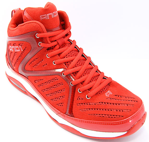 AND1 ME8 Empire Mid アンドワン モンタ・エリス 8 エンパイア ミッド(V.Red/V.Red/White)