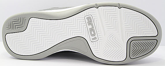 AND1 Report Mid アンドワン レポート ミッド(Cement/D.Grey/White)