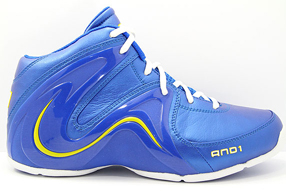 AND1 ME8 Sovereign Mid アンドワン モンタ・エリス 8 ソブリン ミッド(Warrior Blue/Warrior Blue/Gold)