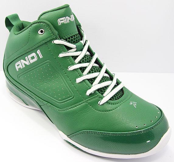 AND1 Renegade Pro Mid アンドワン レネゲード プロ ミッド(Celtic Green/Celtic Green/White)