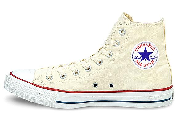 Converse Canvas All Star Hi コンバース キャンバス オールスター ハイ(White)
