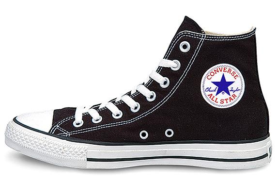 Converse Canvas All Star Hi コンバース キャンバス オールスター ハイ(Black)
