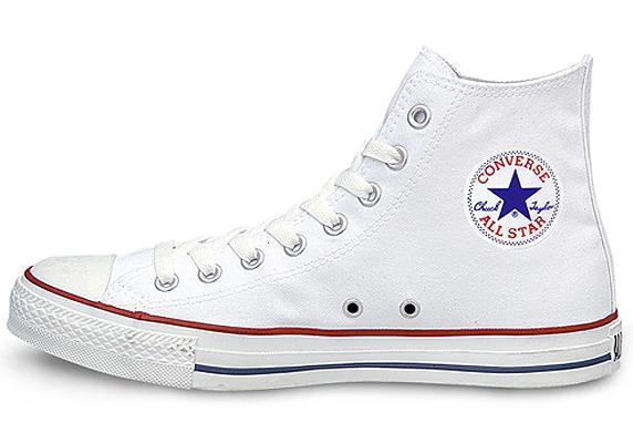 Converse Canvas All Star Hi コンバース キャンバス オールスター ハイ(Optical White)