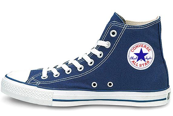 Converse Canvas All Star Hi コンバース キャンバス オールスター ハイ(Navy)