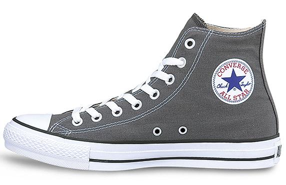Converse Canvas All Star Hi コンバース キャンバス オールスター ハイ(Charcoal Grey)